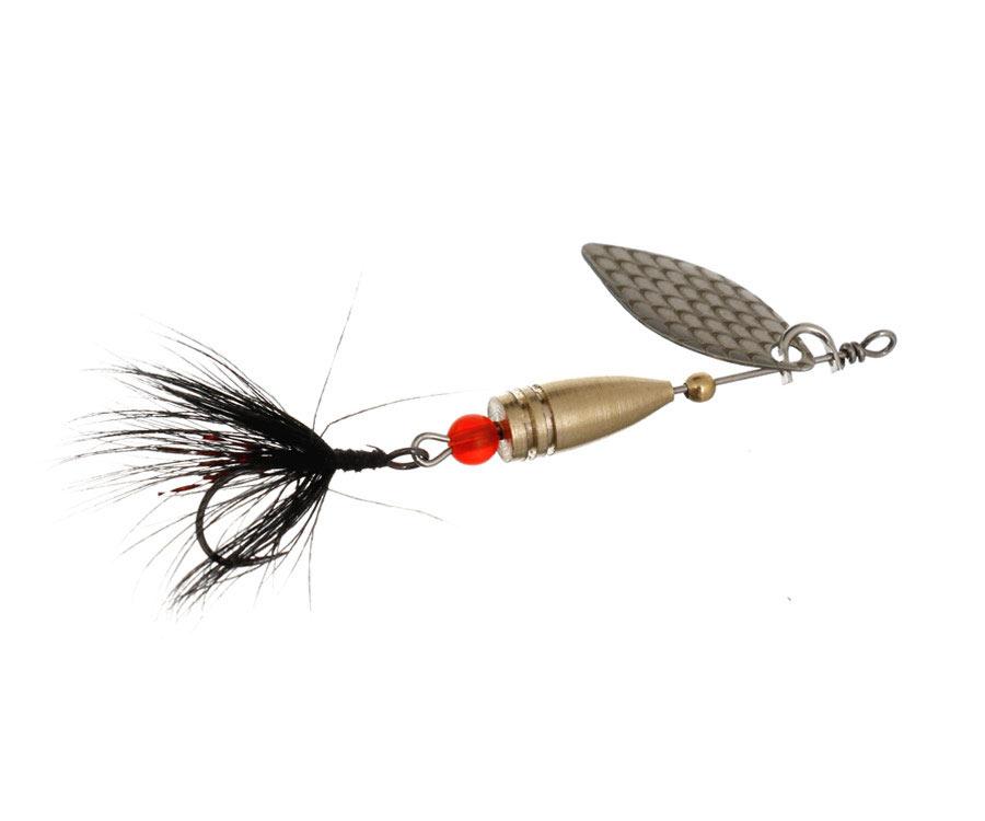 Блесна Flagman Wasp 3.5г Серебро Черная муха