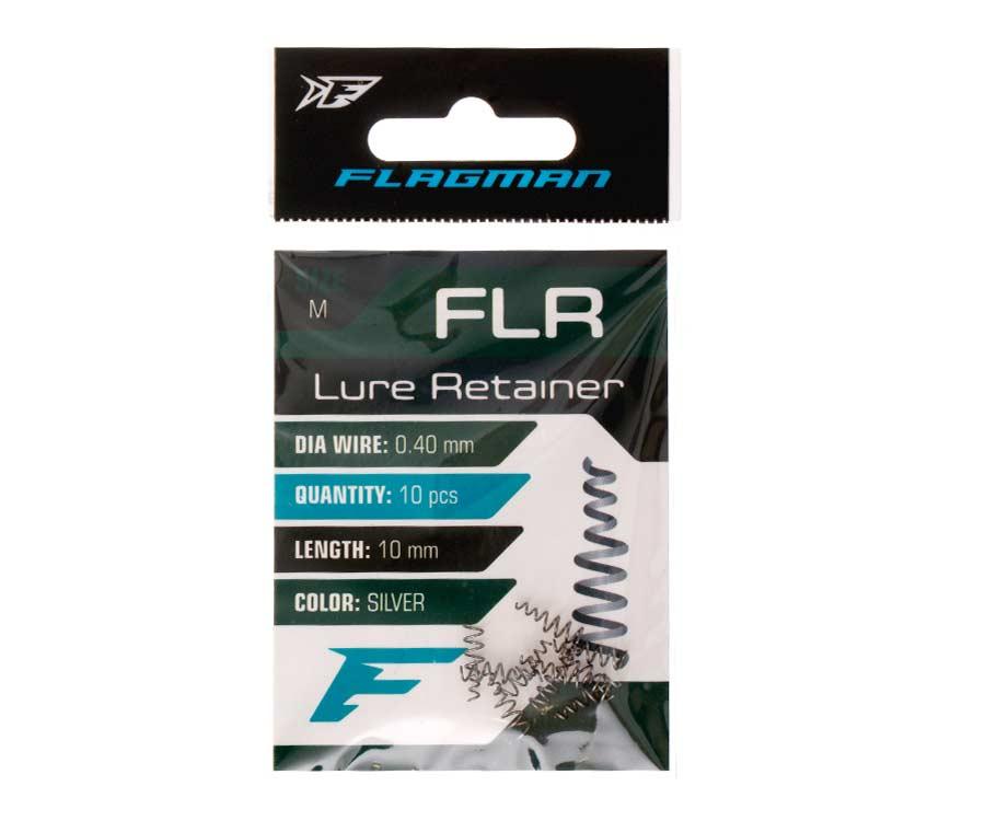 Фиксатор мягкой приманки на офсетном крючке Flagman Lure Retainer (средний)