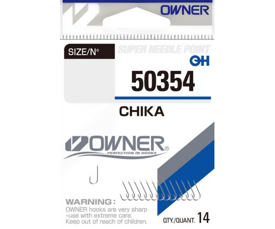 Крючки Owner 50354 Chika №16