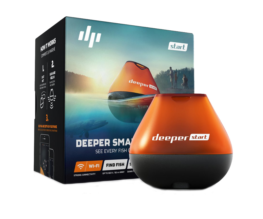 Эхолот Deeper Start Wi-Fi Fishfinder
