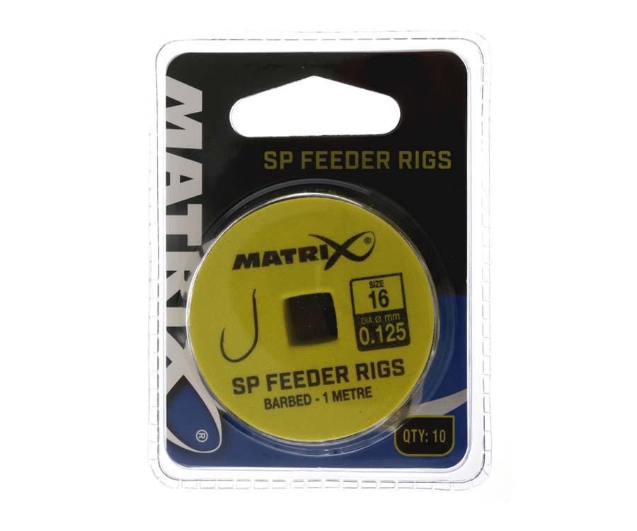 Купить Готовые оснастки, Готовые поводки Matrix SP Feeder Rig №16