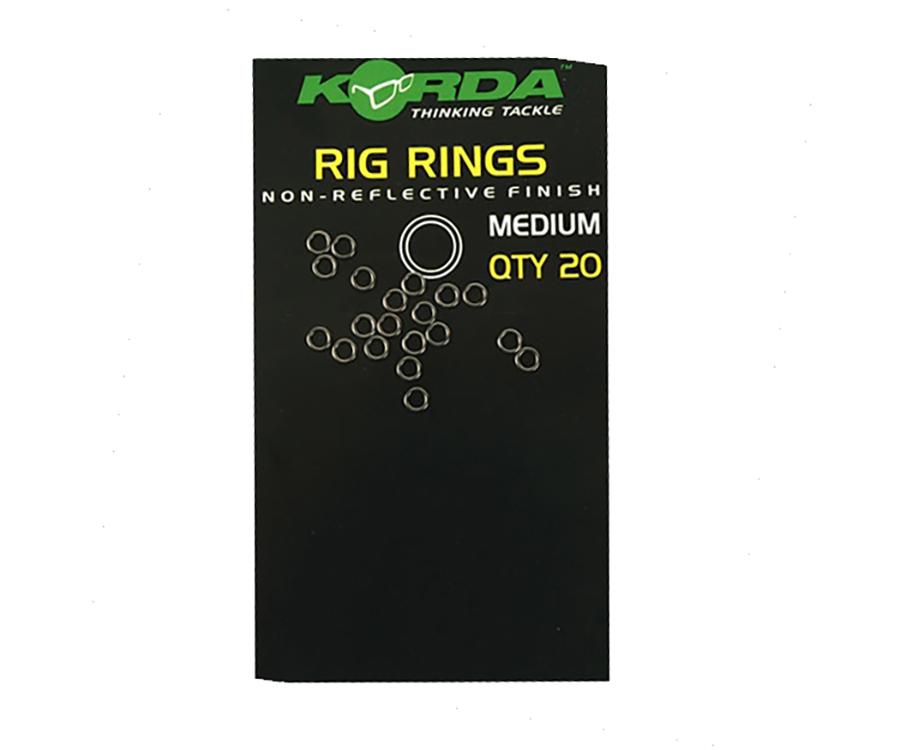 Кольца стальные для оснасток Korda Rig Ring Medium