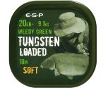 Поводковый материал Esp Tungsten Loaded 20 lb Weed Soft