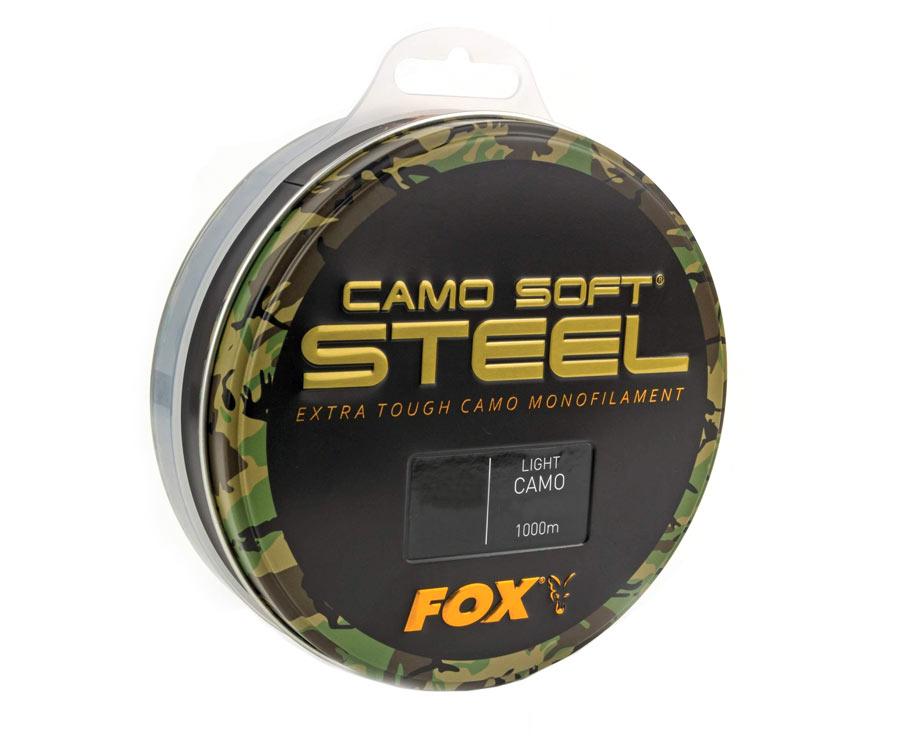 Леска FOX Edges Soft Steel Light Camo 0,370 мм