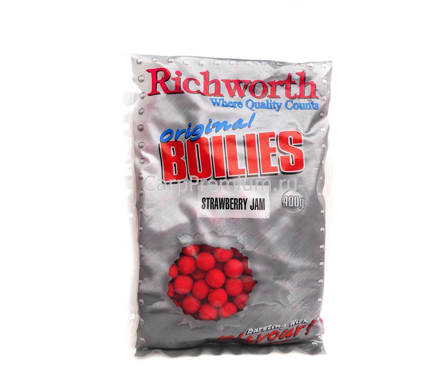 Бойлы Richworth Shelf Life Boilie 14 мм 400 г Strawberry Jam