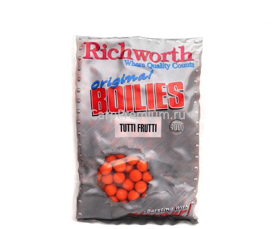 Бойлы Richworth Shelf Life Boilie 14 мм 400 г Tutti Frutti