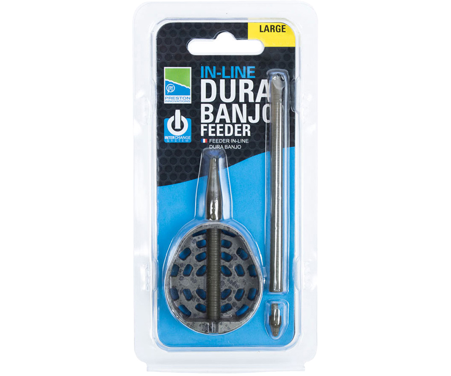 Кормушка Preston New In-Line Dura Banjo Feeder L 30 г