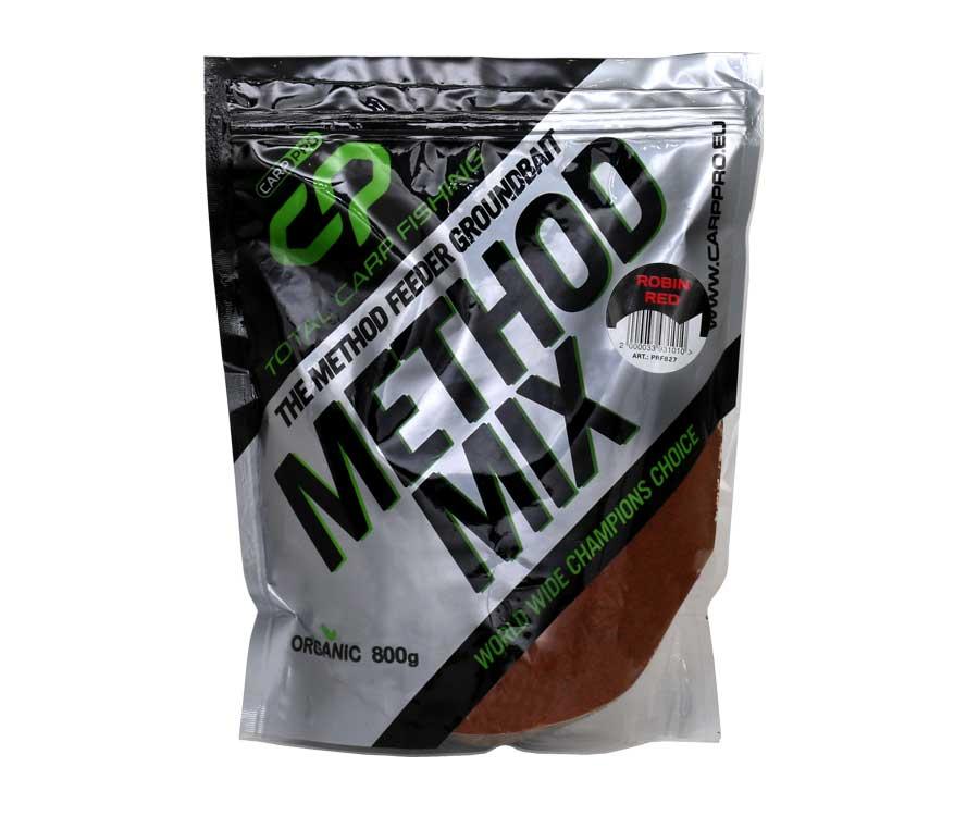 Прикормка Carp Pro Method Mix Robin Red