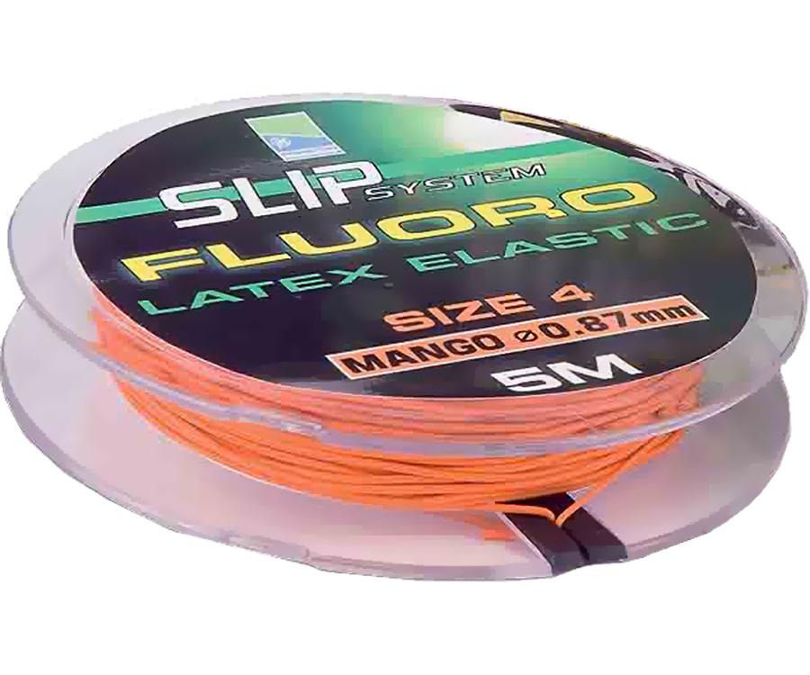 Амортизатор Preston Fluoro Slip Elastic № 4 0,87 мм