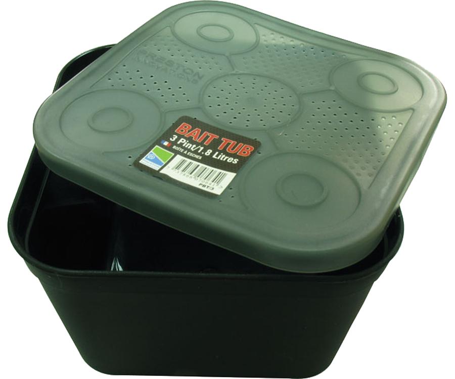 Емкость для насадки Preston Black Bait Tub 1.8л