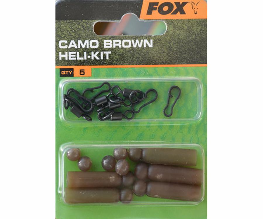Набор оснастки FOX Heli Kit Camo Brown