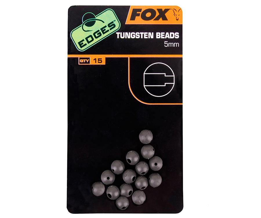 Бисер вольфрамовый Fox Edges Tungsten Beads 5 мм