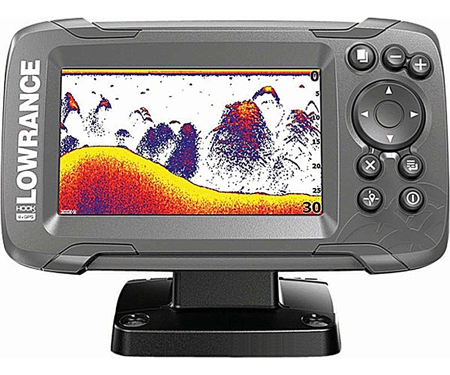 Эхолот Lowrance Hook2 4x GPS Bullet