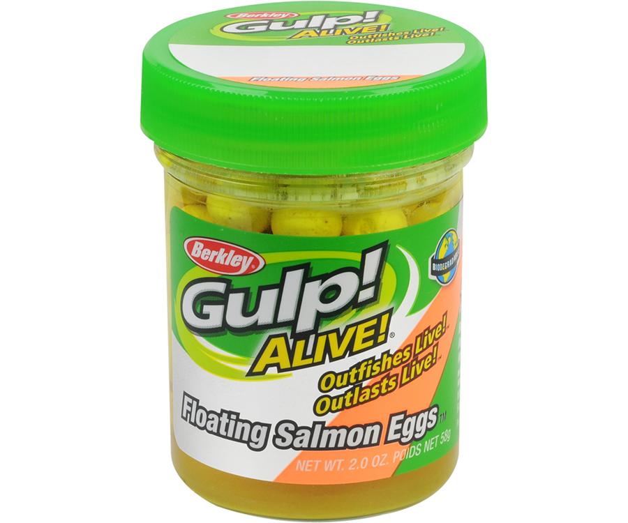Икра Berkley Alive Floating Salmon Eggs Fluo Yellow
