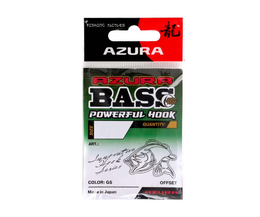 azura Гачки Azura Bass Powerful Hook №5/0