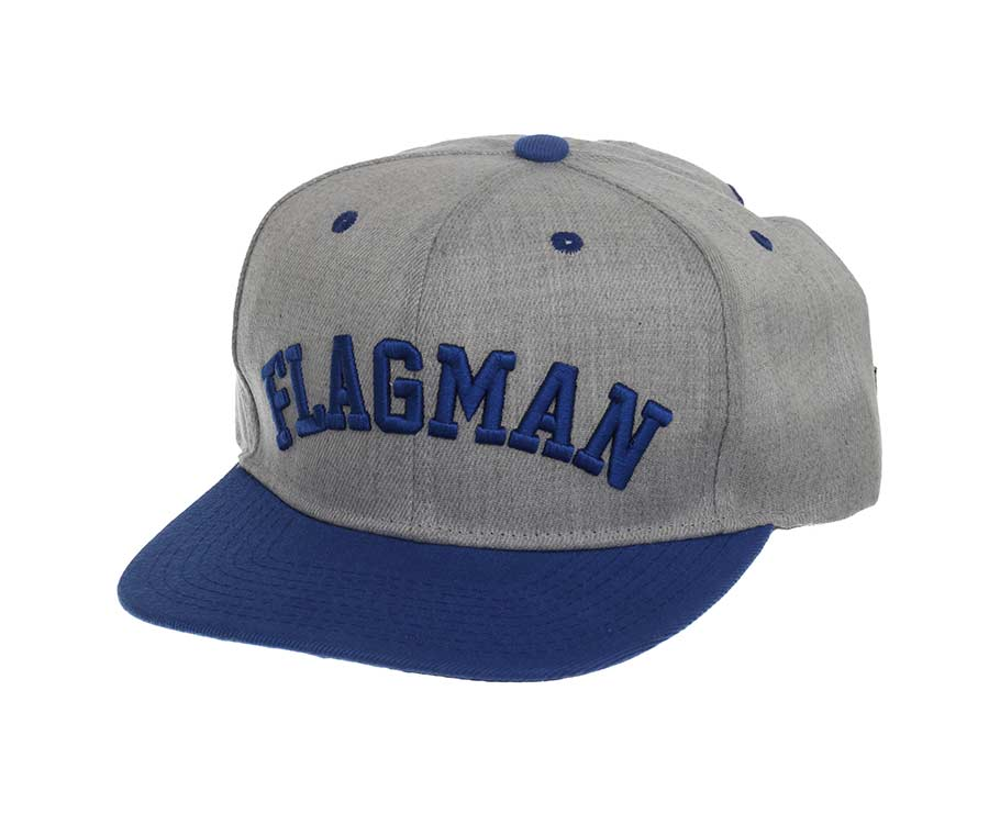 Бейсболка Flagman Casual Grey Blue