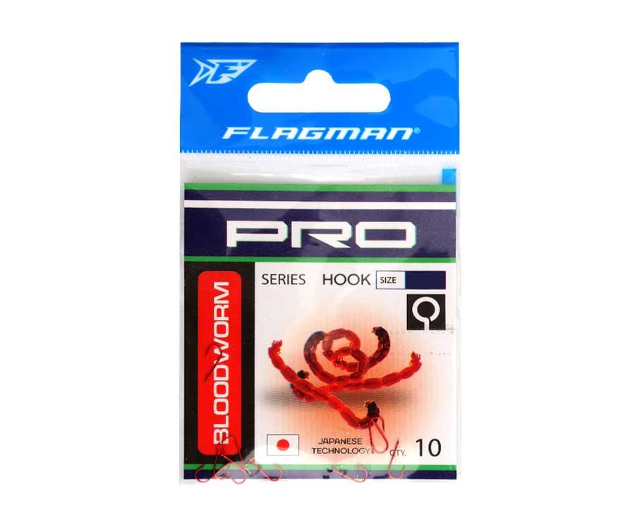 Крючки Flagman Bloodworm Pro №18