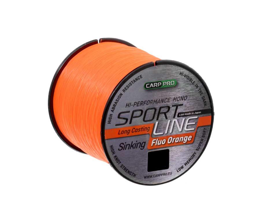 Леска Carp Pro Sport Line Neo Orange 1000м 0.28мм