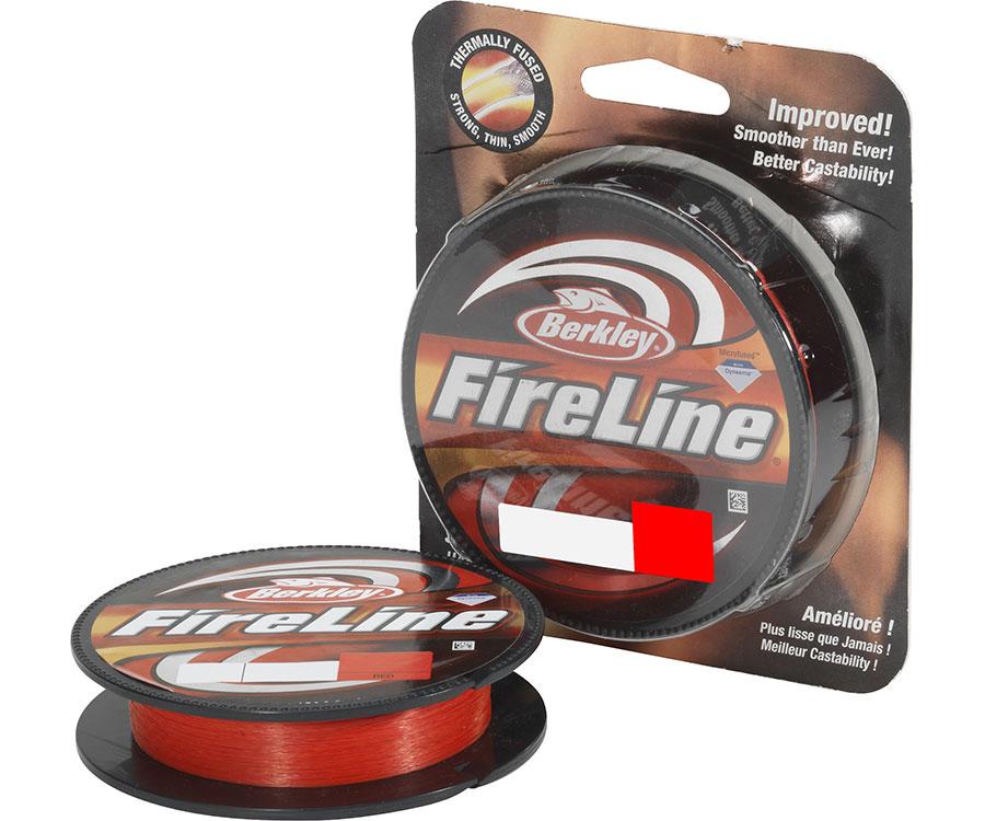 Шнур Berkley FireLine Fused Original 110 м 0.15 мм 7.9 кг Red