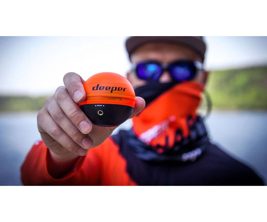 Набор Эхолот Deeper Pro WIFI + Накладка Night Fishing Cover