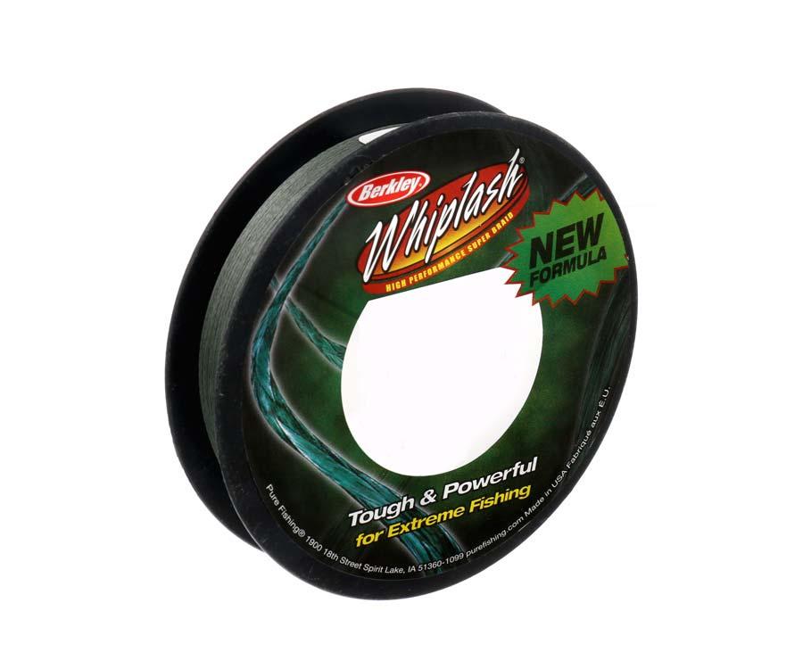 Шнур Berkley Whiplash Pro Green 110м 0.10мм