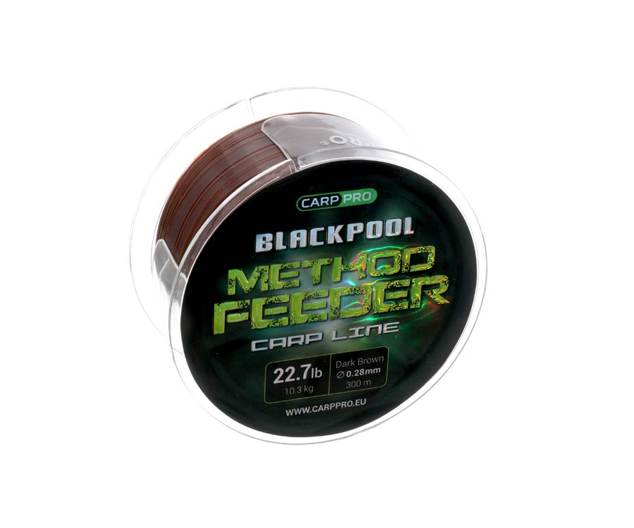 Леска Carp Pro Blackpool Method Feeder Carp 300м 0.28мм