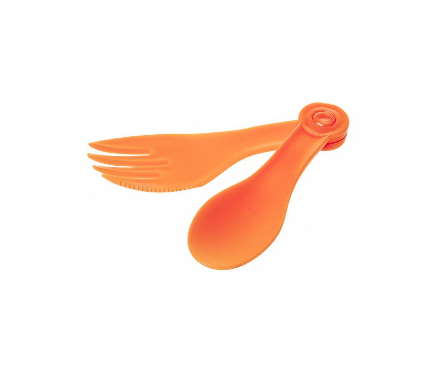 Ложка / вилка складная Tramp Оранжевый