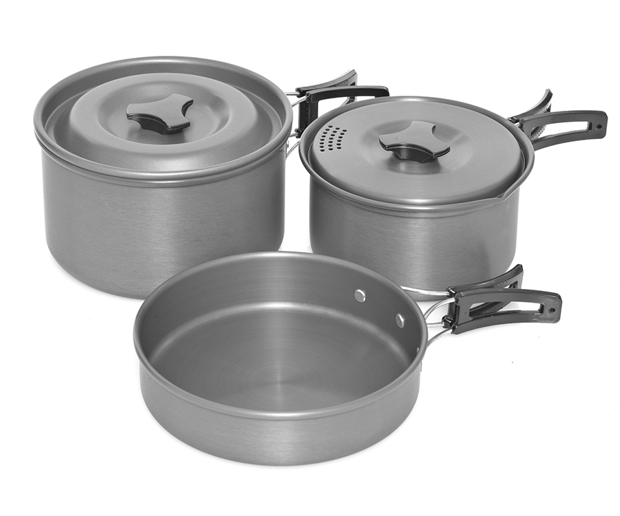 Набор посуды Trakker Armolife 3 Pce Cookware Set