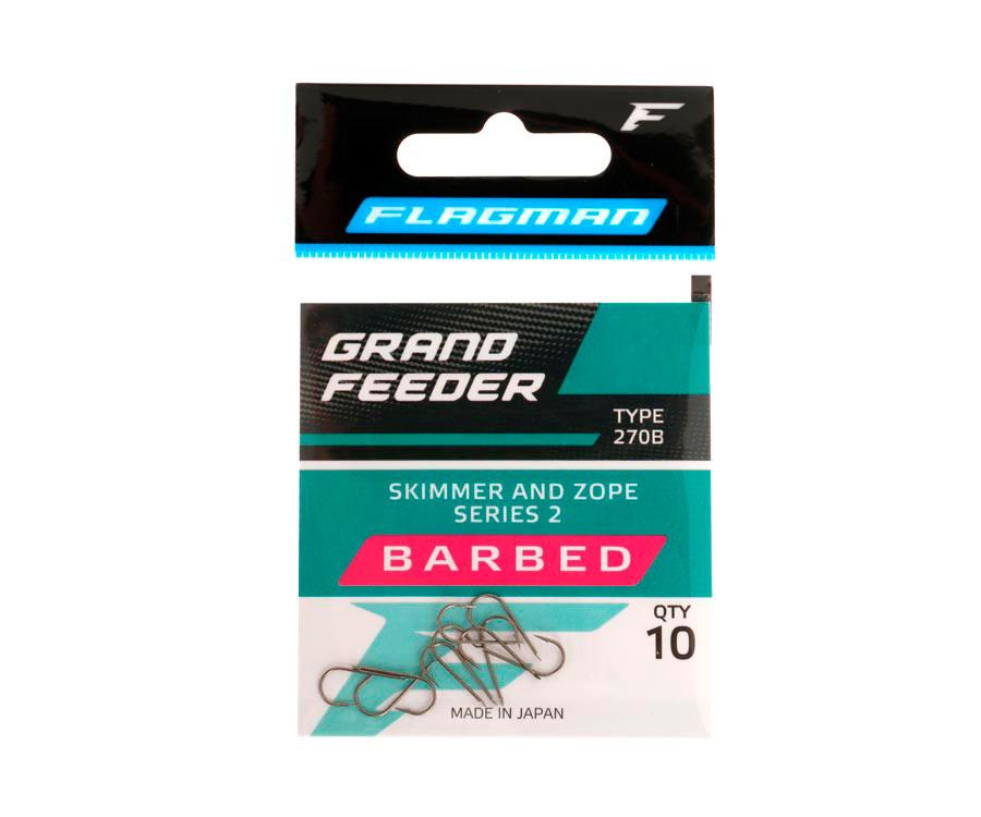 Крючки Flagman Grand Feeder Skimmer And Zope Series 2 №10