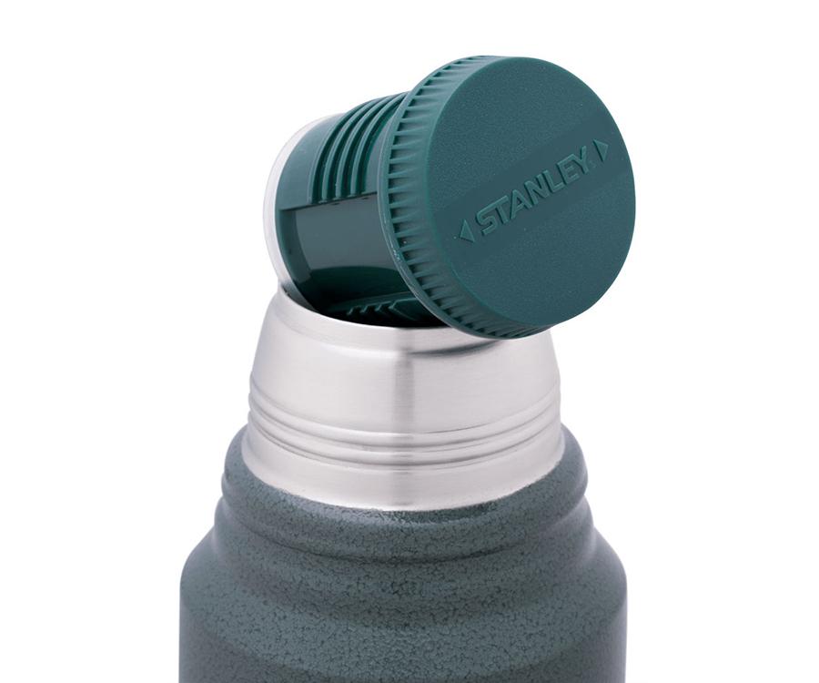 Термос Stanley Classic 1 л с ручкой зеленый