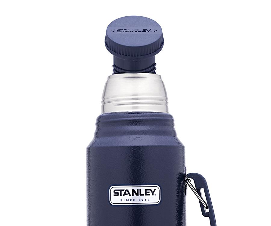 Термос Stanley Classic 1.3 л с ручкой синий