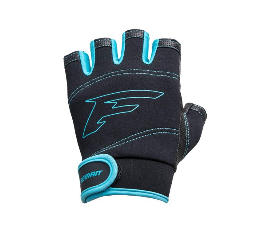 Перчатки спиннингиста Flagman Neoprene Gloves обрез 5 пальцев L
