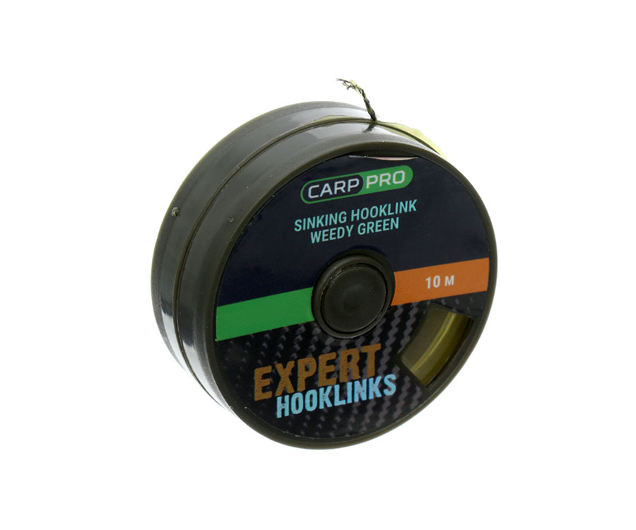 Поводковый материал без оболочки Carp Pro Weedy Gr. Sinking 15lb 10м