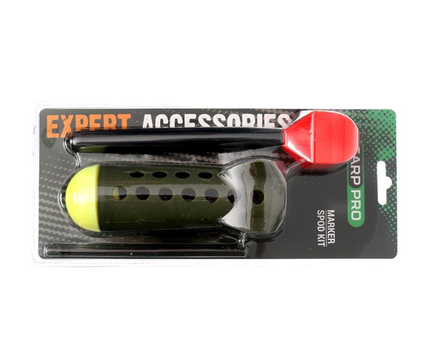 Набор маркерный Carp Pro: поплавок + ракета Marker Spod Kit (блистер)