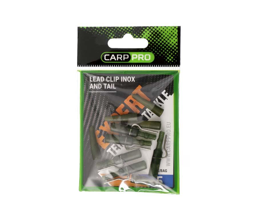 Безопасная клипса Carp Pro Lead Clip Inox And Tail