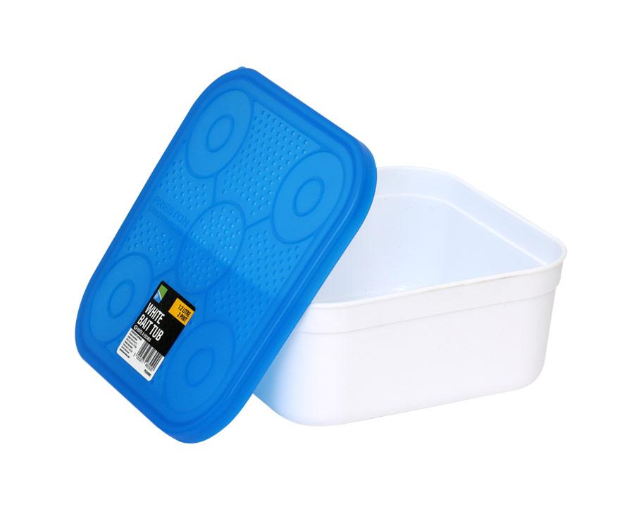 Емкость для насадки Preston White Bait Tub 1.2л New