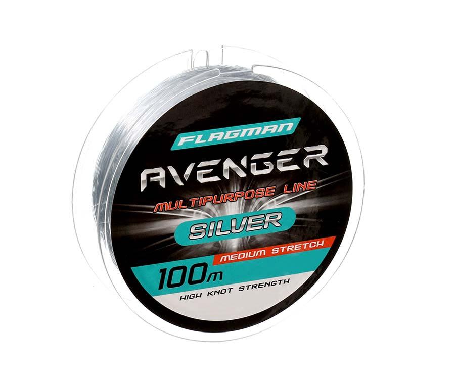 Леска Flagman Avenger Silver Line 100м 0.35мм