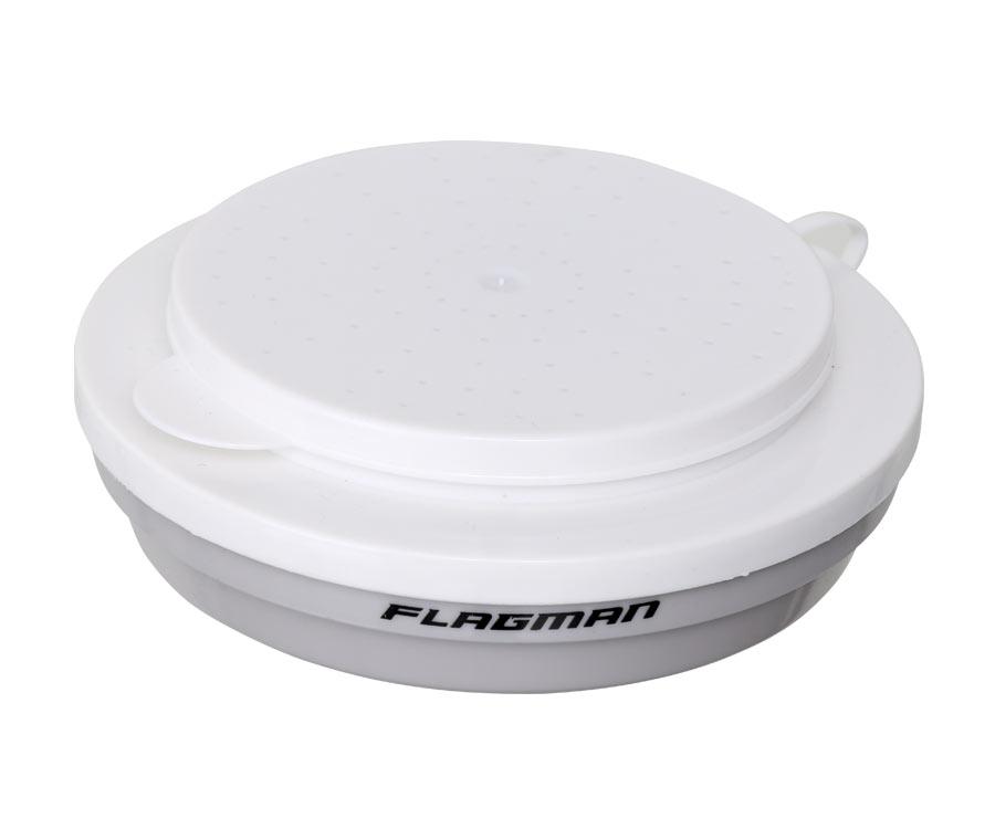Коробка для наживки Flagman круглая 0.25л