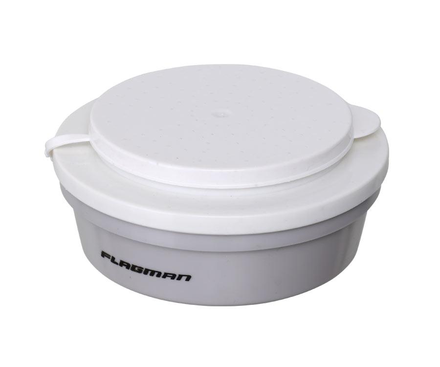 Коробка для наживки Flagman круглая 0.5л