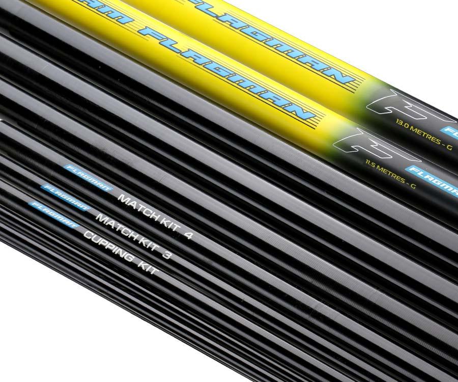 Штекерное удилище Flagman Cast Master Allround Pole 13м + Mini Extension + Cupping Kit