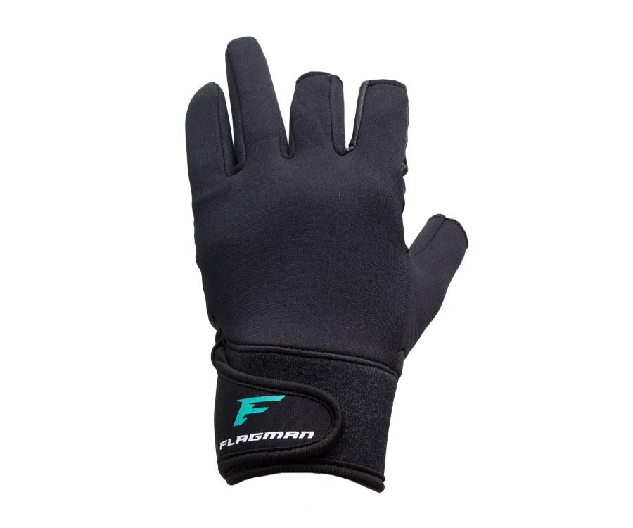Перчатки спиннингиста Flagman Fishing Gloves Titanium Coated M