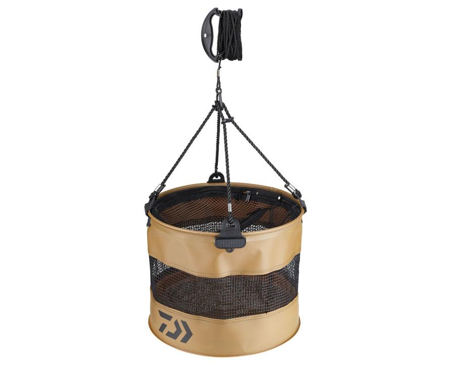 Мягкое складное ведро Daiwa Eva Baitfish Bucket Foldable