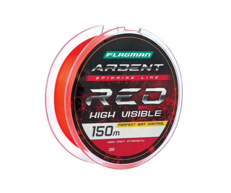 Купить Леска Flagman Ardent Red 150м 0.25мм