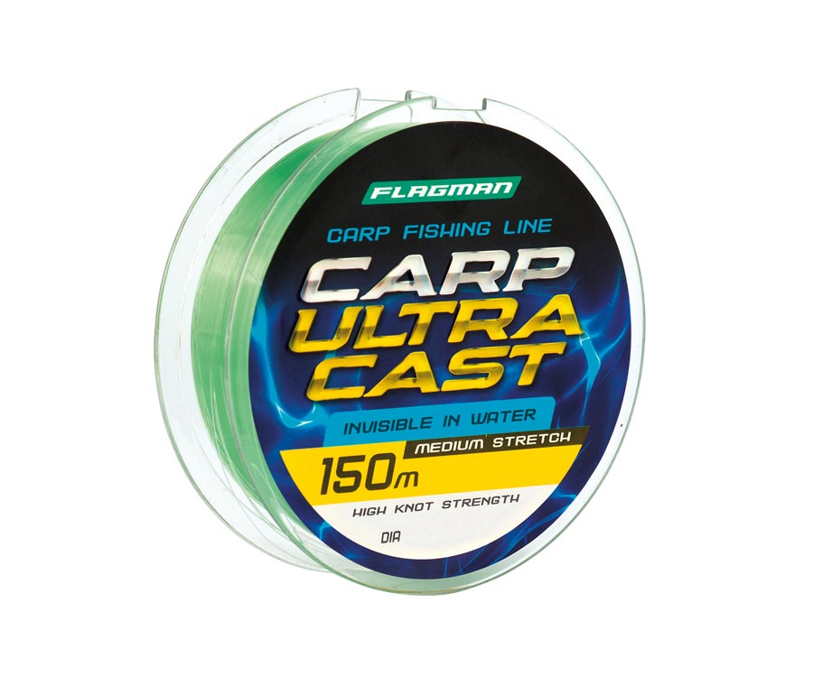Леска Flagman Carp Ultra Cast 150м 0.25мм