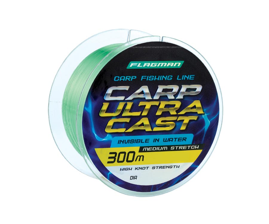 Леска Flagman Carp Ultra Cast 300м 0.25мм
