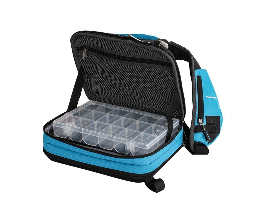 Сумка-рюкзак спиннинговая Flagman Spin Bag с 2 коробками 34x24x10см