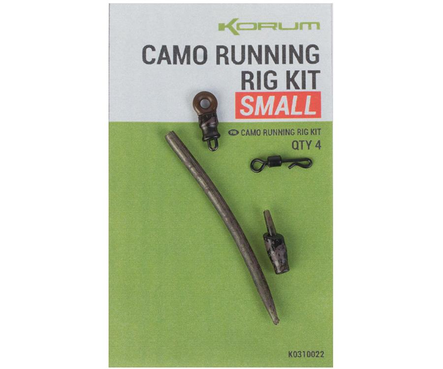 Набор для скользящей оснастки Korum Camo Running Rig Kit