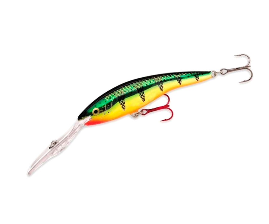 Воблер Rapala Deep Tail Dancer 130мм Flash Perch