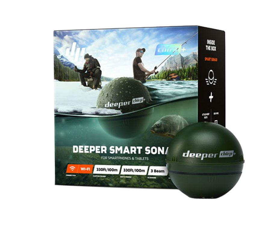 Эхолот Deeper Chirp+ WiFi + GPS + Sonar