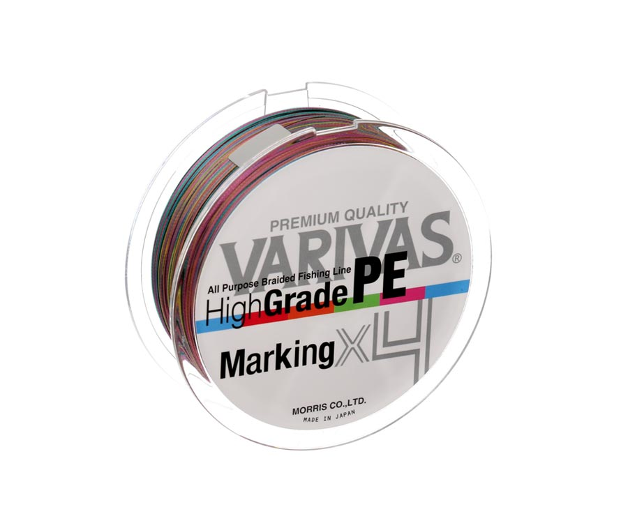 Шнур Varivas High Grade PE Marking X4 200м #0.8 0.148мм